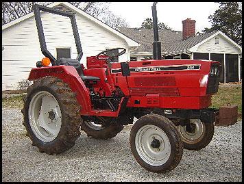 Case 244 Tractor - Attachments - Specs