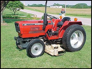 Case 254 Tractor