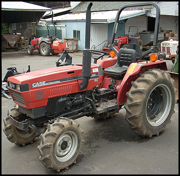 Case 255 Tractor