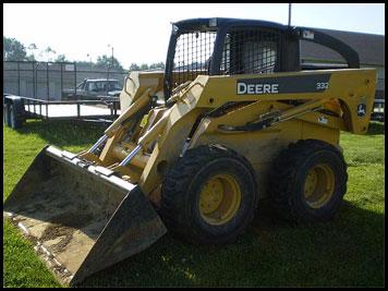 John Deere 332 >> John Deere 332 Skid Steer - Attachments - Specifications