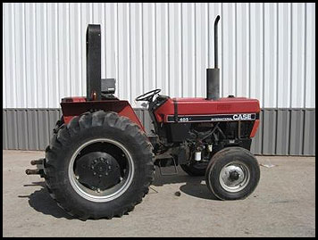 Case 485 Tractor