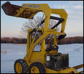 John Deere 575 Skid Steer Attachments Specifications