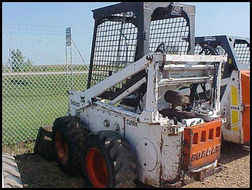 Bobcat 610 Skid Steer