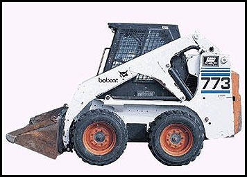 Bobcat 773 Steer Skid