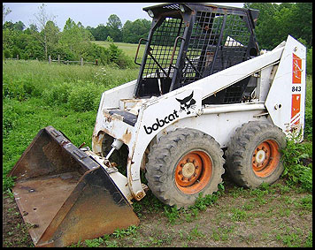 Bobcat 843 Skid Steer