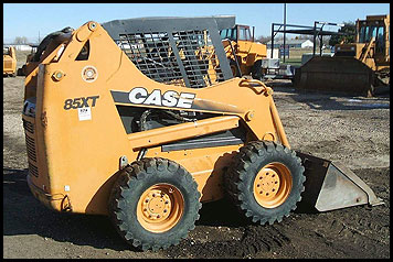 Case 85XT Skid Steer