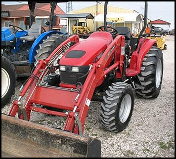Case D35 Tractor