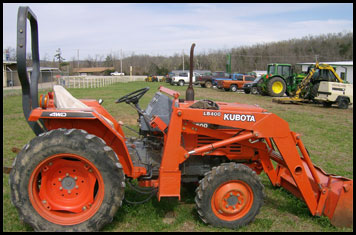 Kubota L2500 Specifications Attachments