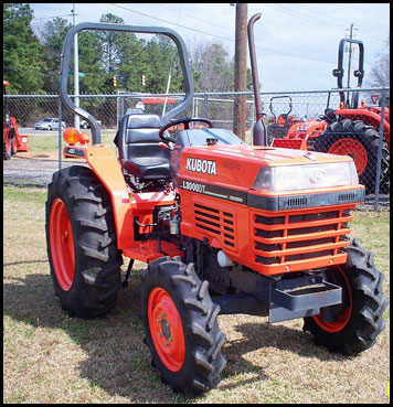 Kubota L3000 Tractor Specifications Attachments