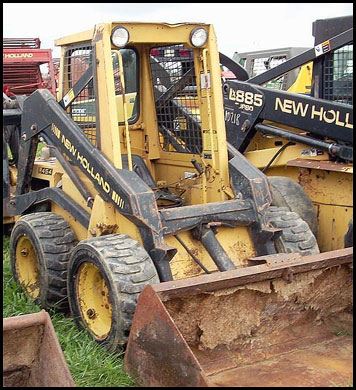 New Holland L454 Skid Steer