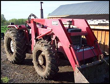 Massey Ferguson 275 Tractor Attachments Specs