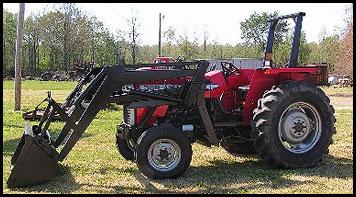 Massey Ferguson 362 Tractor Attachments Specs