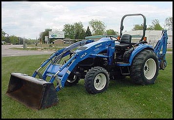 New Holland TC45 Tractor