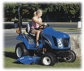 New Holland TZ25