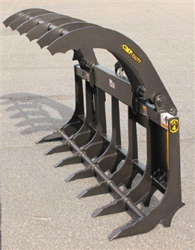 Compact Tractor Loader Xtreme Root Rake Grapple For