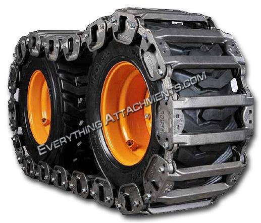 Grouser Skidsteer Tracks Over The Tire Tracks Metal Tracks