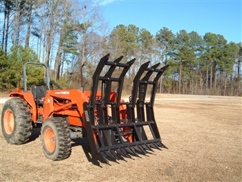 Root Rake Brush Grapple For Compact Tractors Up To Full