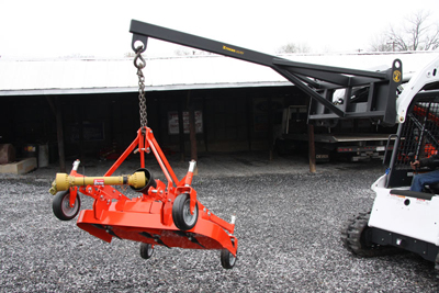 Skid Steer Boom Pole, XTreme Duty Universal Skid Steer Quick