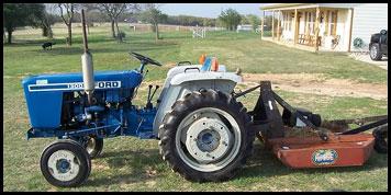 Ford 1300 Tractor - Attachments - Specs