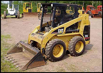 Caterpillar 216 Skid Steer Attachments Specifications