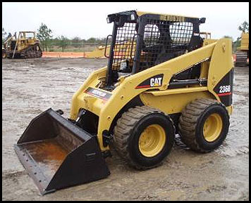 Caterpillar 236B Skid Steer - Attachments - Specifications