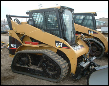 Caterpillar 242B Skid Steer - Attachments - Specifications