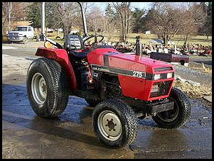 case 275 tractor