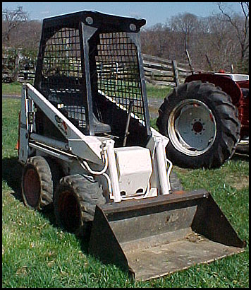 Bobcat 310 Skid Steer Attachments Specifications