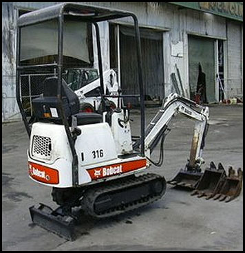 Attachments - Specifications for Bobcat 316 Mini Excavator