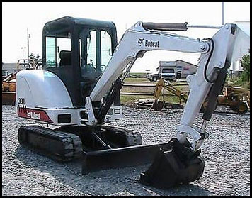 Attachments - Specifications for Bobcat 331 Mini Excavator