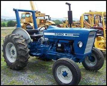 Ford 3400 Tractor - Attachments - Specs