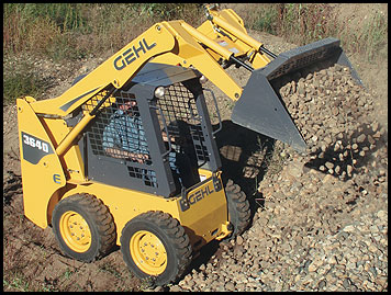 Gehl 3640E Skid Steer - Attachments - Specifications