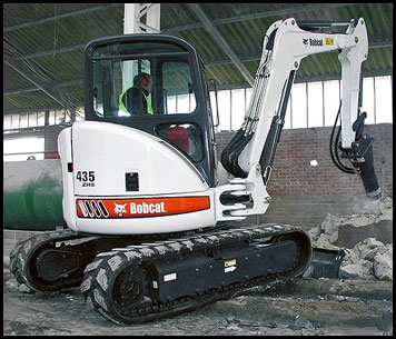 Attachments - Specifications for Bobcat 435ZHS Mini Excavator