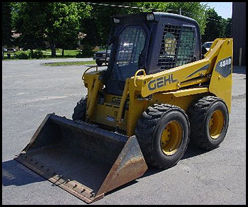 Gehl 480 Skid Loader Manual