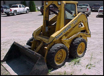 John Deere Skid Steer >> John Deere 570 Skid Steer Attachments Specifications