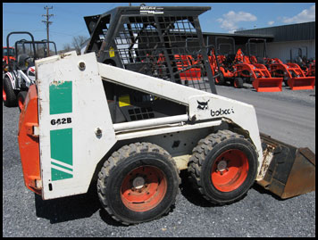 Bobcat 642B Skid Steer - Attachments - Specifications