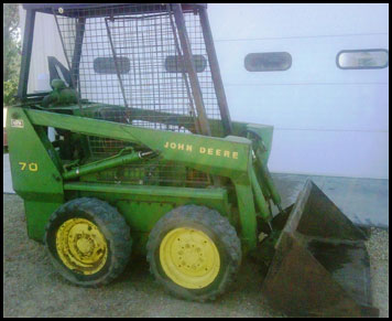 John Deere 70 Skid Steer Attachments Specifications