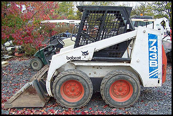 Bobcat 743b Skid Steer Attachments Specifications