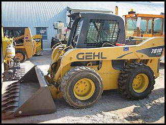 Gehl 7810 Turbo Skid Steer