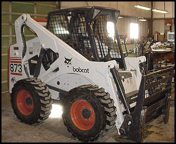 Bobcat 873 Skid Steer - Attachments - Specifications