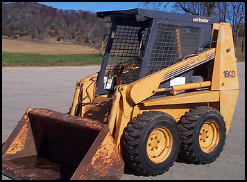 Case 1840 Skid Steer - Attachments - Specifications