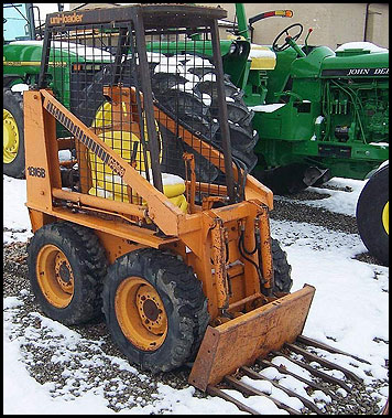 Case 1816B Skid Steer - Attachments - Specifications