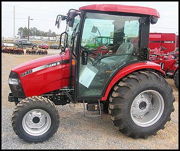 Case DX40 Tractor