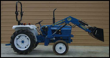 Ford 1700 Tractor - Attachments - Specs