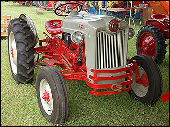 Ford Naa Tractor Attachments Specs