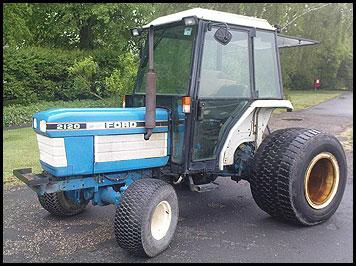 Ford 2120 Tractor - Attachments - Specs