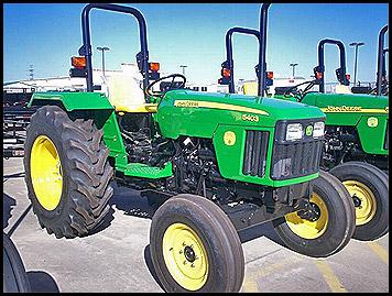 John Deere 5403 Tractor Model