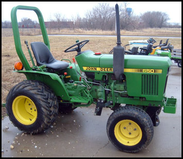 John Deere 650 Attachments Specs