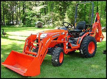 Kubota B2920 Specifications Attachments