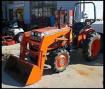 Kubota L2050 Specifications Attachments